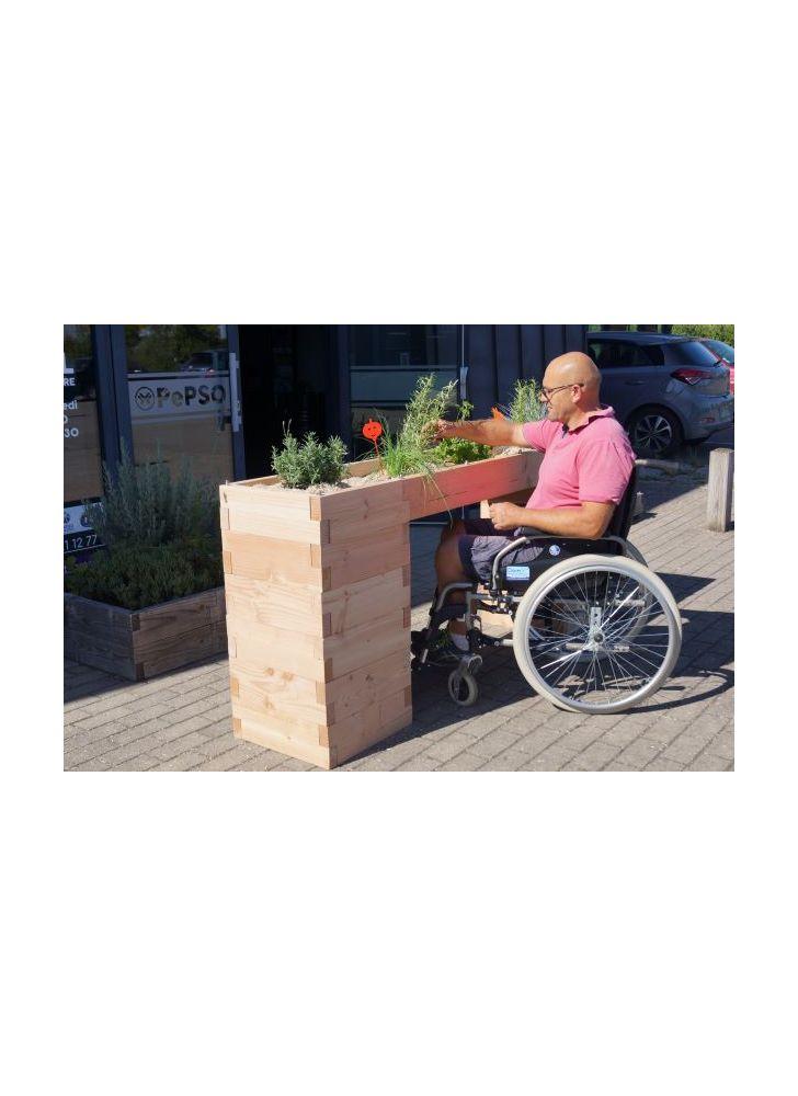 adapté aux personnes à mobilité réduite