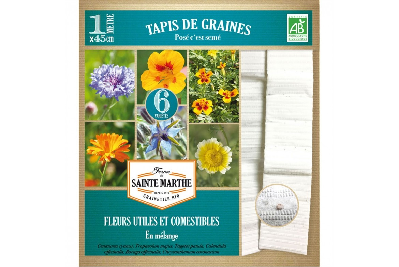 LES RUBANS ET TAPIS DE GRAINES... jardiner devient un plaisir !